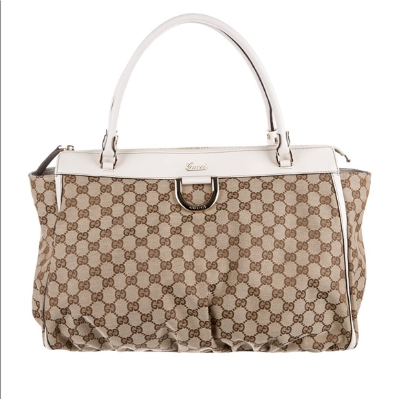 facf29d0d2c Gucci Handbags - Gucci GG Canvas D-ring Tote.